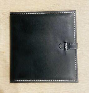 Black Leatherette Double DVD/CD Presentation Folio