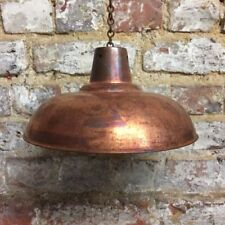 Copper Industrial Lampshades
