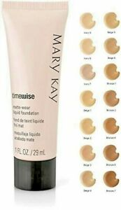 Mary Kay MATTE Wear Liquid Foundation YOU PICK! Ivory Beige Bronze 1 2 3 4 5 6 7