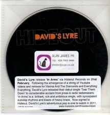 (CQ406) David's Lyre, In Arms - DJ CD