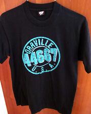 ORRVILLE Ohio lrg T shirt Beverly Hills 44667 parody dayglo tee 1990s retro TV