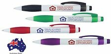 250 Custom PRINTED personalised Promotional ANTON Pens with logo and text