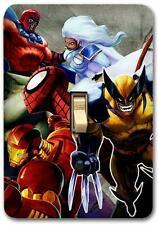 Marvel heroes Metal Switch plate Wall Cover Lighting Fixture Playroom SP712