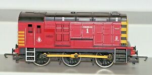 """Hornby R2774 Class 08 Diesel Shunter """"Thomas 1"""" Locomotive 08500 Used Unboxed"""