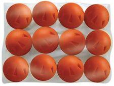 """Champro Brute Poly Ball 9"""" Baseball/Softball Box of 12 Hole Type Orange Cbb50"""