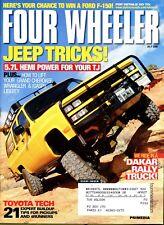 Four Wheeler Magazine July 2005 Jeep Tricks! 5.7L Hemi Power For Your TJ