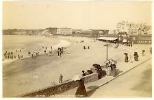 France, Biarritz, les Bains de la Grande Plage  Vintage albumin print Tira