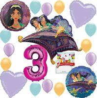 Aladdin Party Supplies  Birthday Balloon Decoration Deluxe Bundle (3rd Birthday)