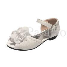 Sandales blanches moyens pour fille de 2 à 16 ans