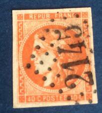 France N°48 a 40 C Orange Vif. Oblitère TTB  Choix Côté 220€