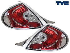 2000-2002 Dodge Neon Euro Tail Lights Chrome Housing by TYC