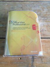MS Visio Professional 2007, Retail Vollversion, Deutsch - mit MwSt-Rechnung