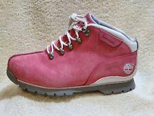 Timberland Ladies  walking boots Leather Pink/White UK 5 EUR 38