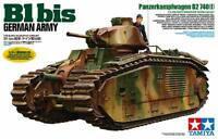Tamiya 35287 1/35 Scale Military Model Kit WWII German Heavy Tank Char B1 Bis