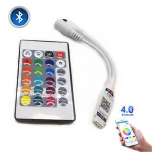 24key Mini IR remote Bluetooth App LED RGB Controller DC5-12V Smart Controller