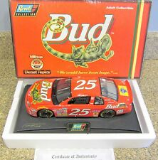 1/18 New 1997 Revell Ricky Craven #25 Bud Louie the Lizard 1/18 Scale