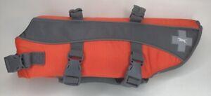 Top Paw Dog Life Jacket, Reflective Adjustable Flotation Device Water Safety M