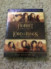Hobbit Trilogy and The Lord Of The Rings Trilogy, 6 Film (blu-ray disc).