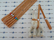 Sophie The Giraffe Harness Toy Saver Strap Leash Natural Giraffe