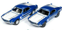 Platt Ford 1969 Mustang Cobra Jet 428 Twin Pack JOHNNY LIGHTNING DIE-CAST 1:64