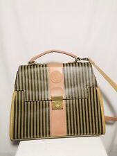 0addd5d523fb Vintage FENDI Satchel Handbag Cognac   Saddle Color