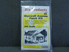 HO Maxwell Avenue Porch Kit - Rix Products #628-0204
