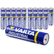 20 x Varta AA Industrial Mignon LR06 Batterie | 2600mAh 1,5V Alkaline| 20 Stk