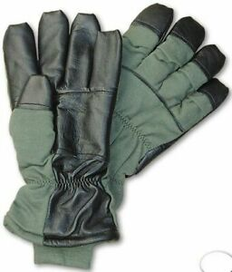 MULTIPLE SIZES NEW USAF COLD WEATHER FIRE RESISTANT NOMEX FLYERS GLOVES HAU-15/P