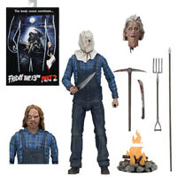"NECA Friday the 13th Part 2 Jason Voorhees Ultimate 7"" Action Figure 1:12 Scale"