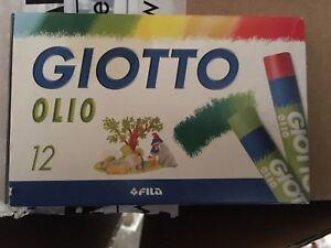 Confezione da 12 pastelli a olio Giotto