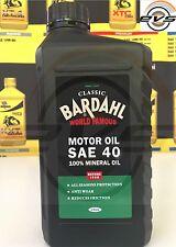 1 Litro Olio Motore Auto e Moto Epoca BARDAHL CLASSIC SAE 40 Minerale