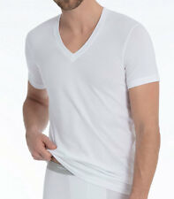 CALIDA T-Shirt V-Neck Evolution M weiß 14317