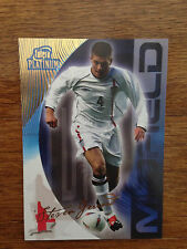 2003 Futera World Football Soccer Card- England STEVEN GERRARD Mint