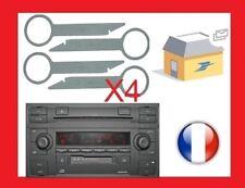 chiavi di estrazione autoradio smontaggio audi sinfonia 2 K7