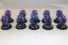 Warhammer Space Marine Emperors Children 30k Tactical Squad Pro Painted
