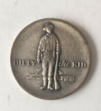 Rare 1969 Billy the Kid Lincoln County New Mexico Centennial .999 Silver Round