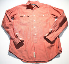 EUC Ralph Lauren Polo Sportswear Coral Size Small Long Sleeve Button Front