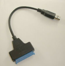 USB 3.0 SATA Converter Adapter Cable for 2.5 inch HDD SSD 20cm