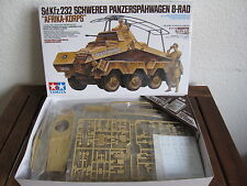 "Sd.Kfz 232 Schwerer Panzerspähwagen 8 Rad ""Afrika-Korps"" Tamiya im Maßstab 1:35"