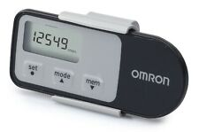 Omron HJ321-E Black Walking style one Step counter pedometer 3D Accelerometer