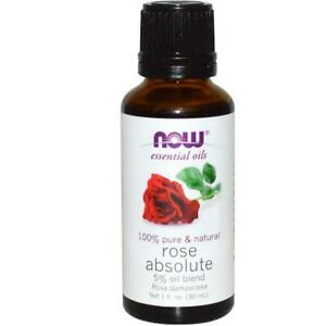 Rose Absolute 5%, Now Foods Brand Essential Oils