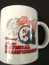 1994 NEBRASKA HUSKERS NATIONAL CHAMPIONSHIP FOOTBALL MUG