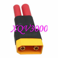 Direct connect: Xt90 Male to Hxt 4Mm Female Adapter For Lipo battery Turnigy