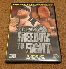 Combat Zone Wrestling vs IWS Freedom to Fight DVD 2015 DJ Hyde Matt Tremont