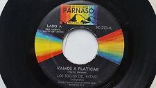 LOS SOCIOS DEL RITMO - Vamos a Platicar / La Burrita 1971 LATIN FUNK SOUL