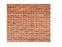 Metcalfe MOO54 Printed Red Brick Sheets x 8 Card Kit 00 Gauge New Pack 1st class