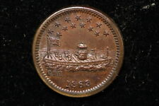 "1863 United States. Civil War Token. ""Our Navy""."