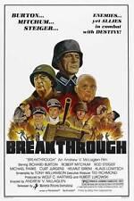 BREAKTHROUGH Movie POSTER 27x40 Richard Burton Rod Steiger Helmut Griem Klaus
