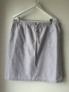 W.LANE LINEN & COTTON Skirt Size 16 Excellent Condition