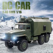 WPL B36 Ural 1:16 2.4G 6WD RC Auto Militär Armee Truck LKW Rock Crawler RTR DHL